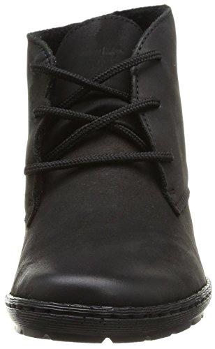 Rieker 57141-00 Damen Kurzschaft Stiefel Schwarz (schwarz / 00)