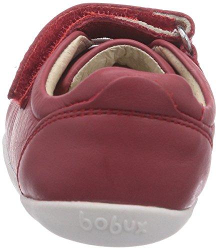 Bobux 460778, Baskets Basses mixte enfant Rouge - Rot (rot)