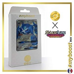 Métalosse-GX (Metagross-GX) 139/145 Full Art - #myboost X Soleil & Lune 2 Gardiens Ascendants - Box de 10 Cartas Pokémon Francés