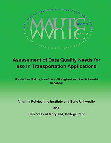 Assessment of Data Quality Needs for Use in Transportation Applications