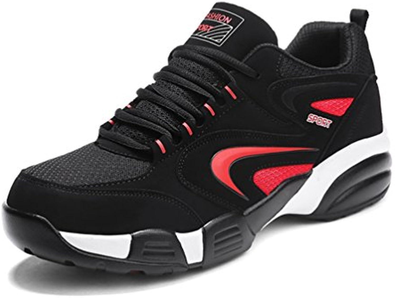 Qianliuk Herren Laufschuhe Atmungsaktive Sneakers Slipon Frei Laufen Sport Fitness Walking
