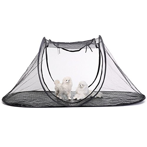 XIAOCONG Kleintierhausschlafensicherheit Pet Portable with Carry Bag Collapsible Storage Pet Tent Cat Dog Travel Pet Cage