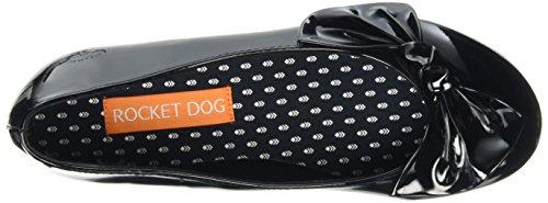 Rocket Dog Roscoe, Ballerine Donna Nero (Nero (Patent Black))