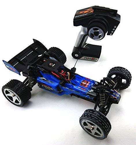 efaso Modell RC Auto Elektro ferngesteuertes RC Car HIGH Speed Buggy Wltoys L959 in blau 2,4G 1:12 Scale RC Cross Country Racing Car Brushed Motor RTR OVP - Scale 15 Auto 1 Rc