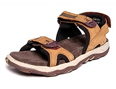 Woodland GD1035111W13 - Camel Casual Sandals for Men Size : (10 UK) or (44 Euro )