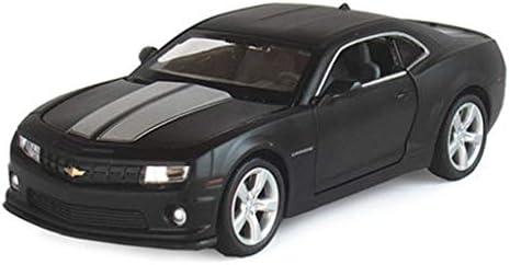 QRFDIAN Modèle de de de Voiture en Alliage Jouet Enfants Chevrolet Camaro modèle de Voiture de Simulation 1:32 Jouets | Bourdon de Voiture | Effet sonore de Simulation à Quatre Portes Fonction de Retour de | 2019  bee083