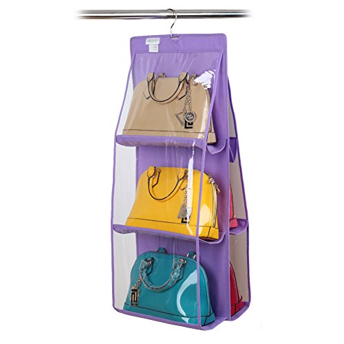 demiawaking-6-pocket-large-clear-purse-handbag-hanging-storage-organizer-closet-tidy-door-hanger-pur
