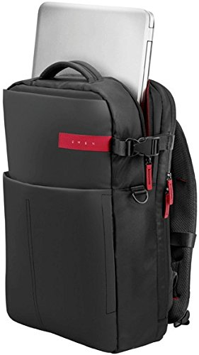 HP Omen K5Q03AA Gaming Rucksack fr Notebooks 4394 cm 173 Zoll schwarz Ruckscke