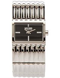 Moschino Reloj de cuarzo Read Between Lines Plateado 27  mm