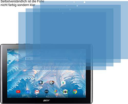 4X ANTIREFLEX matt Schutzfolie für Acer Iconia One 10 B3-A40 Bildschirmschutzfolie Displayschutzfolie Schutzhülle Bildschirmschutz Bildschirmfolie Folie