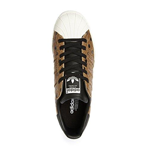 Adidas M19512, Damen Basketballschuhe Braun (Cognac)