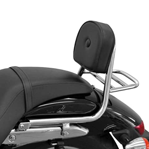 Sissy Bar + luggage rack Fehling Honda Shadow 750 Black