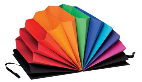 Semikolon Fächermappe Rainbow | Sammelmappe mit 12 Fächern in Regenbogenfarben | Aufwendige...