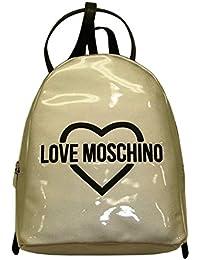 Love Moschino - Bolso mochila  para mujer plateado plateado