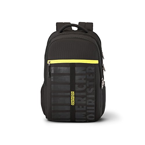 American Tourister X-Jock 28.5 Ltrs Black Laptop Backpack (Fi7 (0) 09 002)
