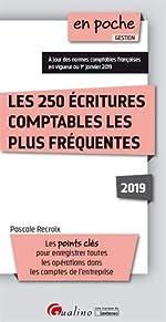 Les 250 écritures comptables les plus fréquentes de Pascale Recroix