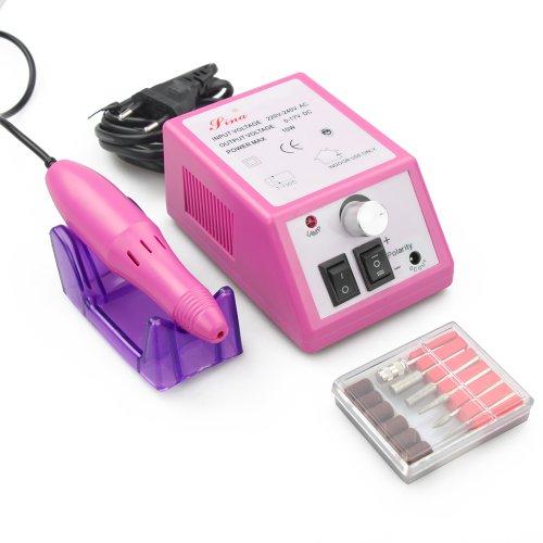 Fly-Shop–zs-210Neue Mode Modell Schleifmaschine Manicure Nagel Professional Elektrische Nail System-Ranking, Electric Nail Drill 10W EU (Rosa und Weiß) rosa