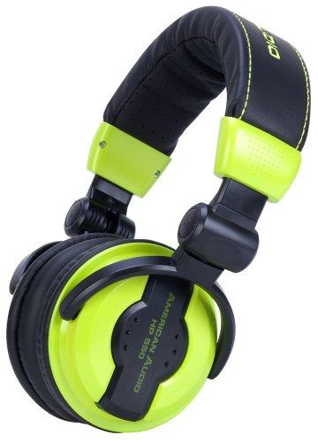 American Audio HP550 DJ-Kopfhörer lime