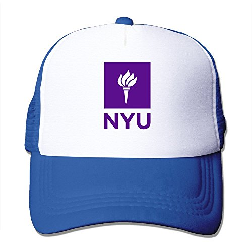 Fitty area New York University NYU Geek Cap Hat One Size RoyalBlue - University New York Hat