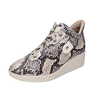 Agile By Rucoline Fashion-Sneakers Womens Beige 3.5 UK