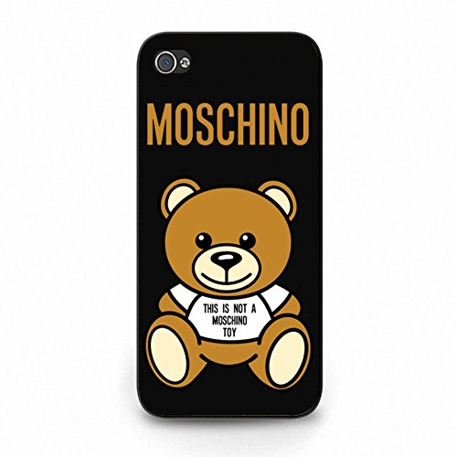 Luxury Brand Moschino Phone Case Cover For iPhone 5c LV89 [Elettronica]