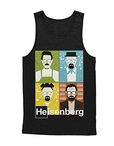 Breaking Bad Walter White Character Unisex C864984 Schwarz XL (Breaking Bad Cosplay Kostüm)