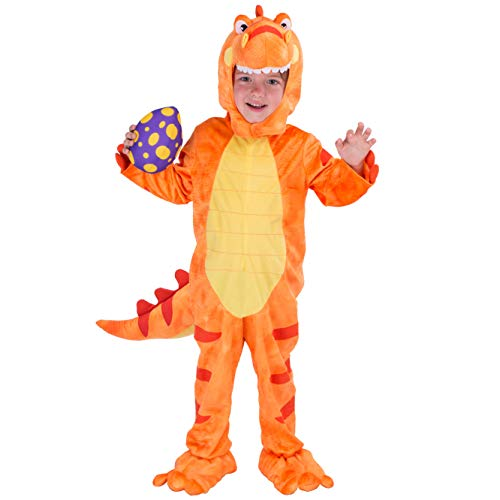 Spooktacular Creations T-Rex Deluxe Kinder Dinosaurier Kostüm für Halloween Kind Dinosaurier Dress Up Party, Rollenspiel und Cosplay (Kleinkind) (Kleinkind(3 - 4 - Dress Up Kostüm Für Kleinkind