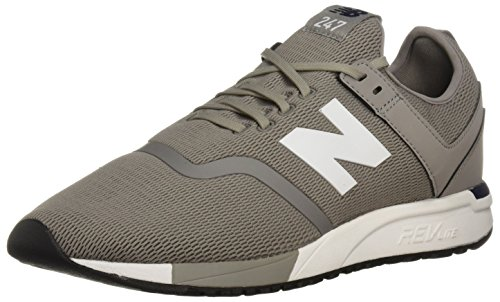 New Balance Herren Mrl247d1 Sneaker, Grau (Grau/Weiss), 42.5 EU -