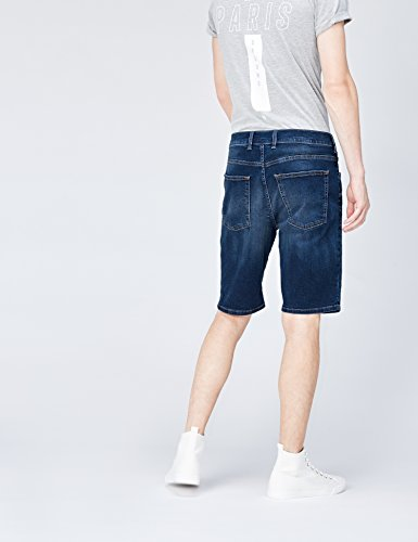 FIND Herren Denim-Shorts Blau (Marsalis Wash)