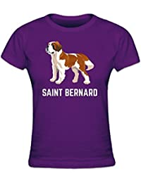 Saint Bernard Illustration Women's T-shirt by Shirtcity