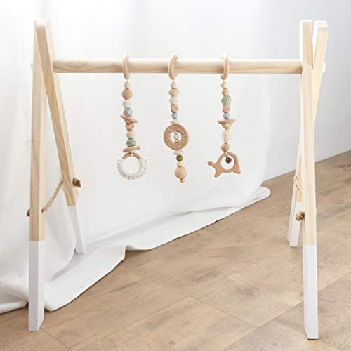 Gimnasio infantil de madera
