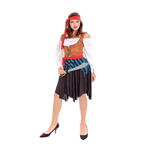 Rock Kostüm Crew Party - Fashion-Cos1 Piratenkostüm mädchen Crew kostüm Halloween kostüme Piraten Cosplay Kurze Party Dress röcke für Dame