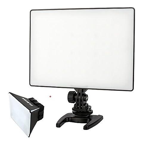 Yongnuo YN300 Air led caméra/vidéo lampe éclairage professionnel super léger à 48 LED 3200K et 48 LED 5500K couvert par panneau blanc pour DSLR caméra DV caméscope Canon Nikon Sony Pentax etc