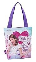 Graziosa borsetta in tessuto con raffigurato il personaggio Violetta. Utile per il passeggio e lo shopping MISURE altezza senza manici: 30cm altezza con manici: 55 cm larghezza: 29 cm colore: come da foto