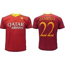 f103e1f824 Maglia Zaniolo Roma Ufficiale 2018/2019 AS Roma Adulto Bambino Nome e  Numero a Scelta