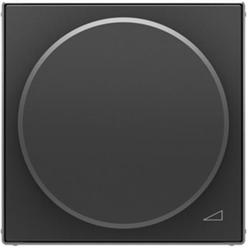 Niessen 8560.2 NS - Tecla regulador Giratorio LED Universal, Color Negro