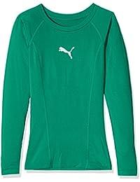 Puma 655921 05, Camiseta de Manga Larga Infantil, Verde (Pepper Green),