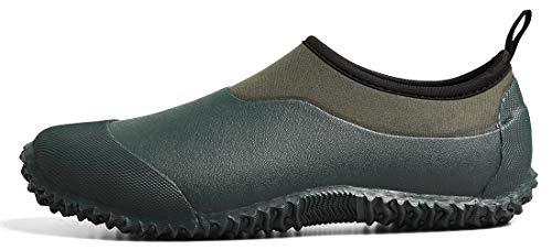 TENGTA Zapatos de jardinería Impermeables Unisex para Mujer Botas de Nieve para la Lluvia...