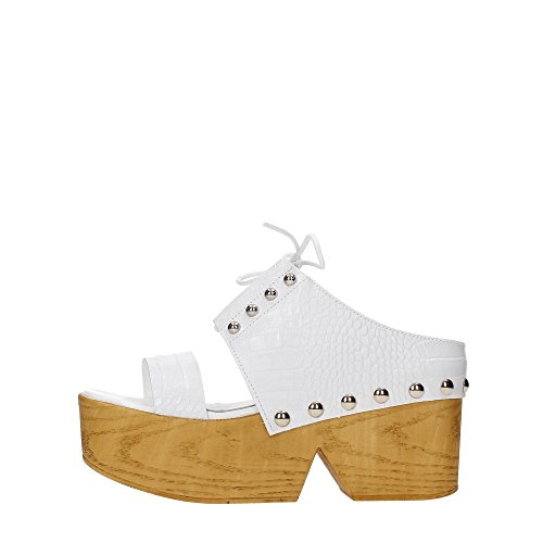 Cult CLE102900 Zeppa Donna White