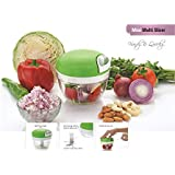 Bluzon Premium Quick Handy Chopper for Fruits & Vegetables (Green)