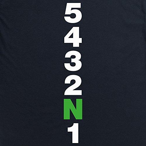 Five Gears T-Shirt, Herren Schwarz