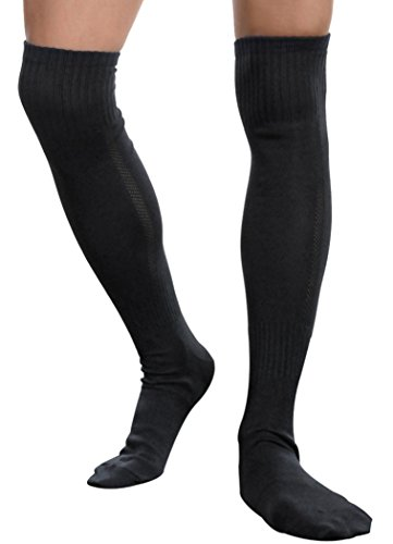 Fascigirl Strumpf Herren Overknee Socken Kniestrümpfe Sportsocken Strümpfe laufen (Element-herren-socken)