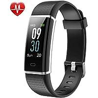 HOMSCAM Fitness Tracker, Orologio Fitness Braccialetto Schermo a Colori Cardiofrequenzimetro da Polso Watch Bracciale Impermeabile IP68 Activity Tracker per iPhone Huawei Android iOS Smartphone