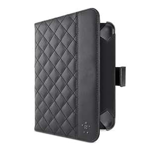 Belkin Quilted Verve Tab Folio (Standfunktion, magnetverschluss, geeignet für Apple iPad mini) schwarz