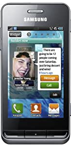 Samsung Wave 723 S7230 Smartphone (8,1 cm (3,2 Zoll) Display, Touchscreen, 5 Megapixel Kamera) titan-gray