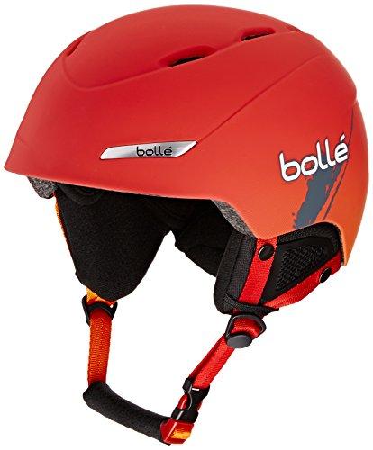Bollé Cascos de esquí B de yond Soft Red Gradient, 58–61cm,