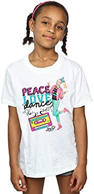 Absolute Cult Jojo Siwa Niñas Peace Love Dance Camiseta