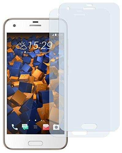 mumbi Schutzfolie kompatibel mit HTC One A9s Folie klar, Bildschirmschutzfolie (2x)