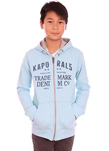Kaporal Bambino-Felpa con cappuccio ragazzo Deli turchese State 2016 blu 6 Anni