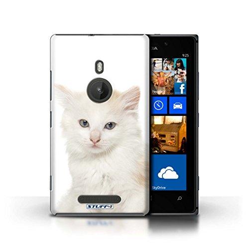 Kobalt® Imprimé Etui / Coque pour Nokia Lumia 925 / Sibérien conception / Série Espèces de chats Kurillian